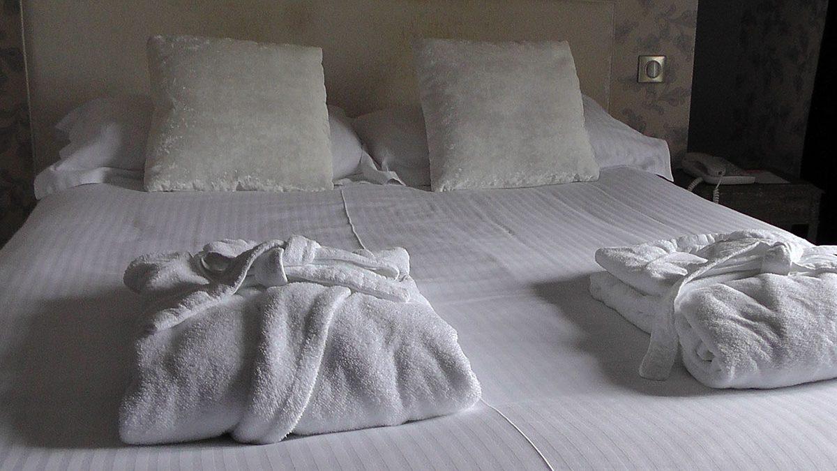 Los chinches de cama en los hoteles