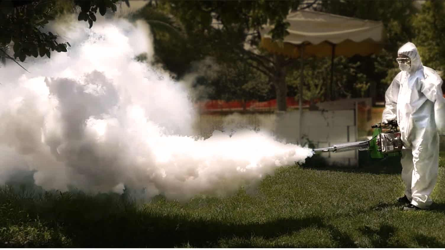 termonebulizador fumigación - Plagas&Control